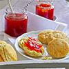 Tomaten-Vanille-Marmelade & Scones