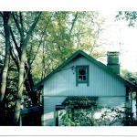 Mit der Polaroid-Kamera in Herbst